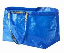 Blue IKEA reusable tote shopping bag -- 19 gal / 55lb-- Larger enough