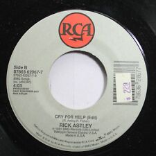 Pop Nm! 45 Rick Astley - Cry For Help / Move Right Out On Rca