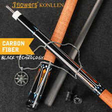 J-flowers KONLLEN Carbon Fiber Pool Cue Stick Technology 12.5mm Billiard Cues