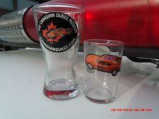 Custom Dukes of Hazzard Glassware ,General Lee,1969 Dodge Charger, CanadianDukes