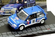 1/43 CITROEN AX GTI DRIANO 1993 RALLY MONTECARLO  IXO EAGLEMOSS DIECAST
