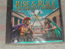 The Rise and Rule of Ancient Empires PC 1996 CD