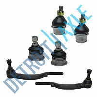 6pc Front Ball Joints & Tie Rods for 03-07 Chevy Trailblazer GMC Envoy SAAB 9-7X
