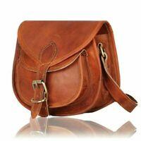 11 In Leather Crossbody Messenger Bag Women Purse Satchel Handbags Sling Bags