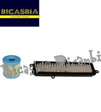 10746 - KIT FILTRO ARIA + OLIO SUZUKI AN BURGMAN 125 150 250