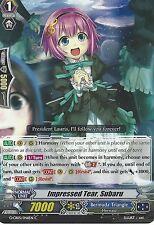 CARDFIGHT VANGUARD CARD: IMPRESSED TEAR, SUBARU - G-CB05/046EN C