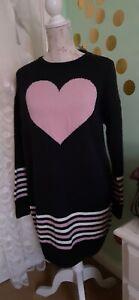 💙💚women's beautifully designed Ditsy wool dress  Bnwt Size 12💙💖