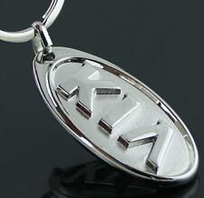 For KIA Car Logo Key Ring Chain Car Titanium Keyring Keychain Key Chain