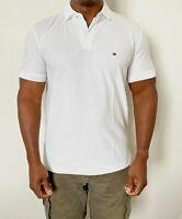 Tommy Hilfiger Mens Designer Regular Fit Premium Polo White Size L or XL