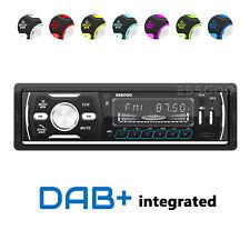 1 DIN DAB+ RDS AM FM Car Stereo MP3 Player Radio Audio Bluetooth USB SD AUX IN