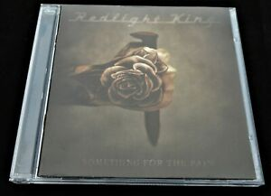 Redlight King: Something For The Pain Spine 728627 CD Signed by Band Rock 2012
