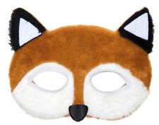 Tier Maske Fuchs mit weichem Plüsch - zum Party Fasching Theater Kostüm