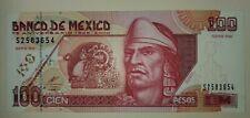 Mexico 100 Pesos Banknote 75 Anniversary , 2000 Serie BW