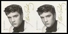 US 5009a Elvis Presley imperf NDC horz pair MNH 2015
