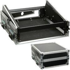 "19"" 2U/10U Quality Mixer Flight Case-Patch Panel Equipment CD Transit Wooden PA"