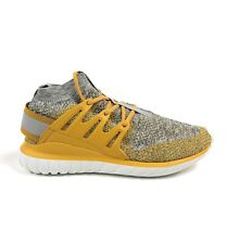 Adidas Originals Tubular Nova Primeknit PK Yellow Men 10.5 Shoes Sneakers BB8407