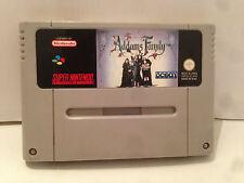The Addams Family Nintendo Super NES SNES PAL Loose