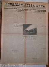 27 agosto 1943 Guerra contro il Giappone porto di Biserta e Augusta Carcov di e
