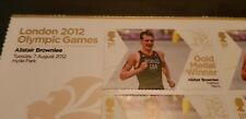 2012 London Olympic Gold medallist Miniature sheet  6x1st  Alistair Brownlee