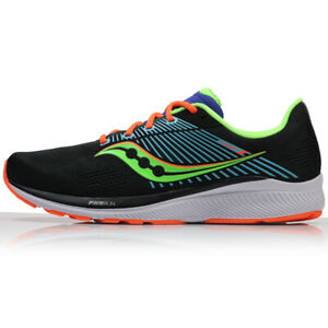Saucony Mens Guide 14 Running Shoes -Future Black