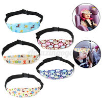 Baby Carseat Head Support Band Strap Car Seat Stroller Neck Relief For Toddler