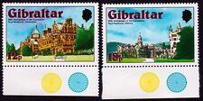 GIBRALTAR 1978 Royal Residences 2v SHORT set MNH @E2720