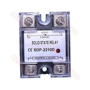 Solid State Relay SSR DC-DC 10A 3-32VDC/5-220VDC 10A Replace Crydom D1D12/D2D12