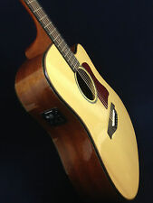 Gosila 8012 Solid Spruce Top Electric-Acoustic Guitar, Natural, Fishman Isys+ EQ