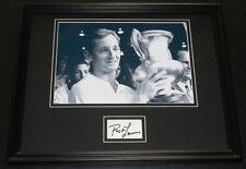 Rod Laver Signed Framed 11x14 Photo Poster Display