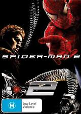 SPIDER-MAN 2 - BRAND NEW & SEALED R4 DVD (TOBEY MAGUIRE, JAMES FRANCO) SPIDERMAN