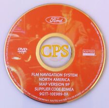 9P Update 2007 2008 2009 Lincoln MKZ Ford Mustang Fusion Navigation OEM DVD Map