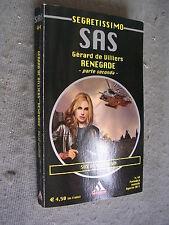 SEGRETISSIMO #   44 - GERARD DE VILLIERS - SAS: RENEGATE - PARTE 2