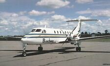Brockway Air  Beechcraft 1900C  Ogdenburg NY   Postcard