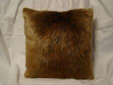 Genuine Beaver Fur Pillow