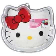 "Hello Kitty Novelty Cake Pan By Wilton, W2105CP 7575, 11""X10.1""X1.9""  ~Brand New"