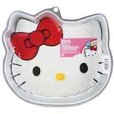 "Hello Kitty Novelty Cake Pan By Wilton, W2105CP 7575, 11""X10.1""X1.9"" ~ Brand New"