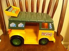 vintage 1988 Teenage Mutant Ninja Turtles action Figure bus vehicle TMNT old Toy