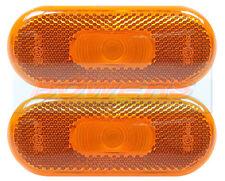 2x JOKON AMBER SIDE MARKER LAMPS LIGHTS FRANKIA i657 i700 RAPIDO KNAUS MOTORHOME