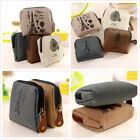 Cute Women's Canvas Tower Cloth Purse Zipper Wallet Card Key Coin Bag Pouch Case