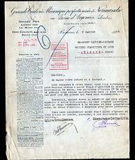 """BEAUVAIS (60) TUILERIE de FRESNE-d'ARGENCES """"TUILERIE de NORMANDIE"""" en 1923"""