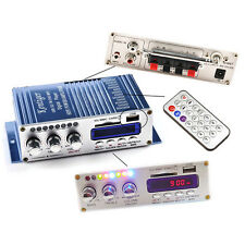 200W 2CH Hi-Fi Audio Stereo Amplifier AMP for Car Motorcycle Home MP3 Ipod Tool