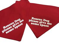 Personalised Dog Bandana, over collar type any message printed 3 sizes 5 colours