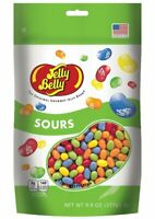 Gourmet SOURS Jelly Belly Candy Jelly Beans 9.8 OZ Stand-Up Pouch Bag