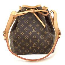 100% Authentic Louis Vuitton Monogram Petit Noe Drawstring Shoulder Bag / pFDE