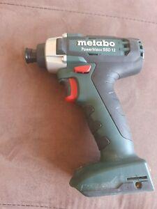 Metabo impact driver