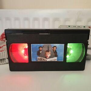Home Alone 2 LED VHS Tape Lamp Birthday Gift Retro Custom Christmas Light 90s