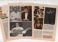 Q36 Clipping-Ritaglio del 1976  Interv. Domenico Modugno