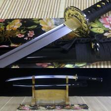 Battle Ready Full Tang Damascus Folded Steel Japanese Samurai Sword Katana Sharp