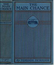 The Main Chance 1903 Meredith Nicholson / Harrison Fisher Illustrations