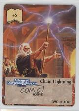 1994 Spellfire: Master the Magic First Edition Base 390 Chain Lightning Card 0b5